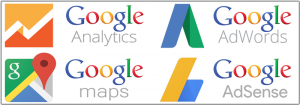 Google Analytics, Google Adwords. Google Adsense, Google Places - by Intense Web Design Harrogate