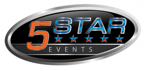 5 Star Events Logo - Design by Intense Web Design Harrogate