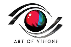Art Of Visions Logo - Design by Intense Web Design Harrogate