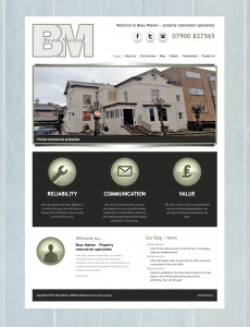 Beau Maison Website - Design by Intense Web Design Harrogate