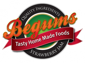 Begums Logo - Design by Intense Web Design Harrogate