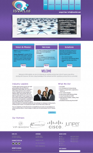 ISVA Website - Design by Intense Web Design Harrogate