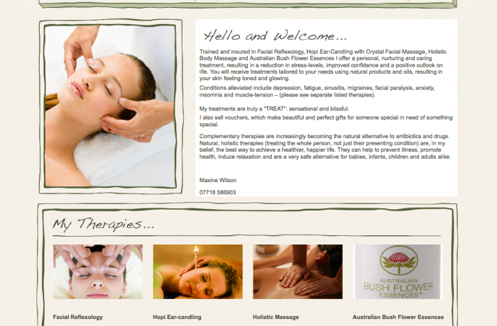 Maxine Wilson Therapies