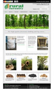 Rural Forestry Website - Design by Intense Web Design Harrogate